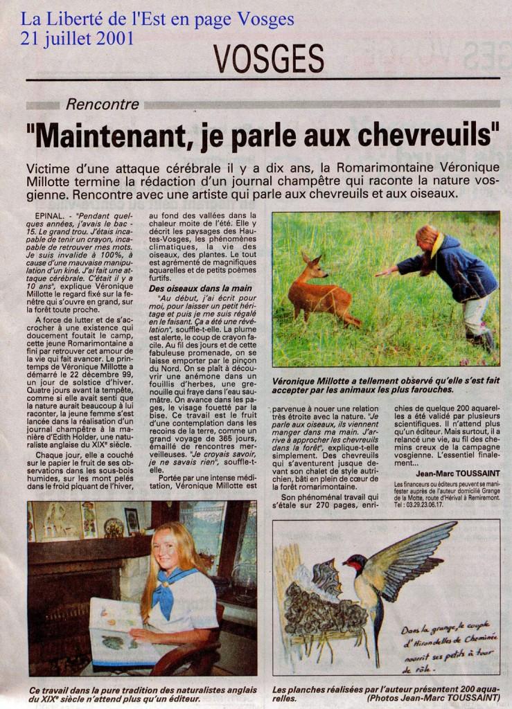 FF Presse 20010721
