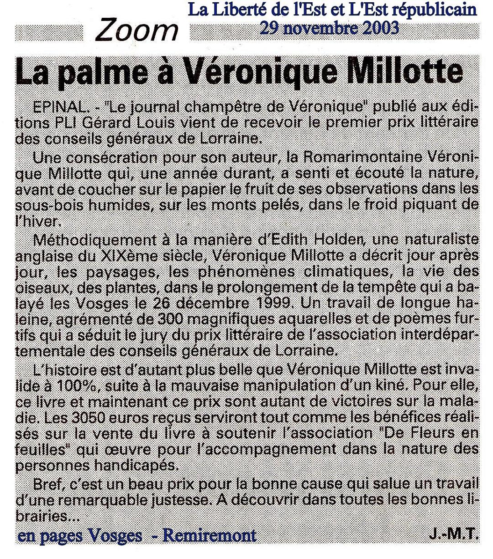 FF Presse 20031129