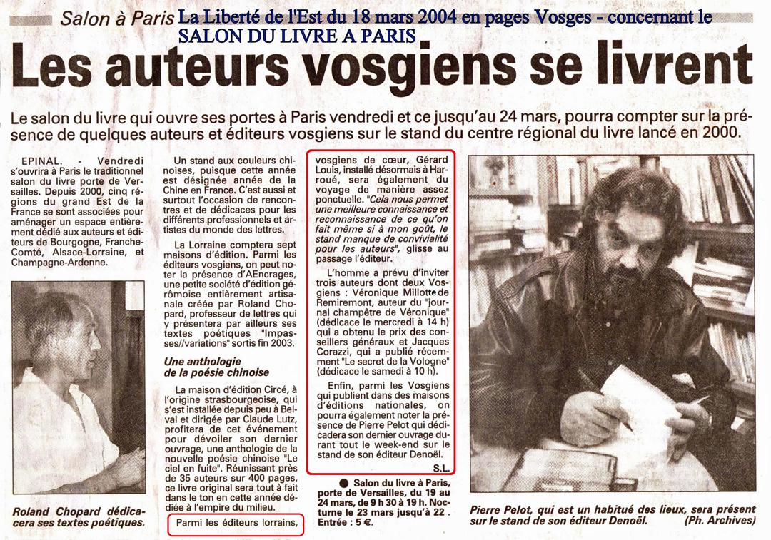 FF Presse 20040318